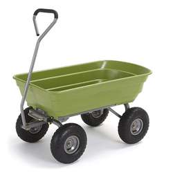 New designed  frame  Heavy Duty Gardening Cart Dump Garden c