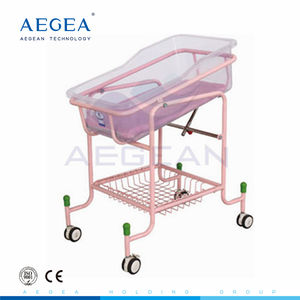 AG-CB010 approved hospital infant furniture China manufacturer baby crib price