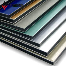 IDEABOND high quality 4x0.5mm PVDF coating aluminum composite panels for exterior wall cladding