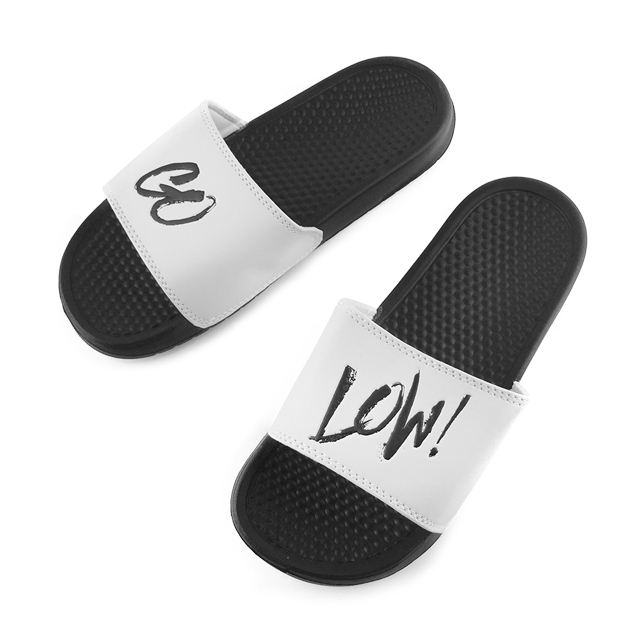 Greatshoe EVA sole cheap men flat beach slipper slide sandal,custom logo slide man slipper sandal