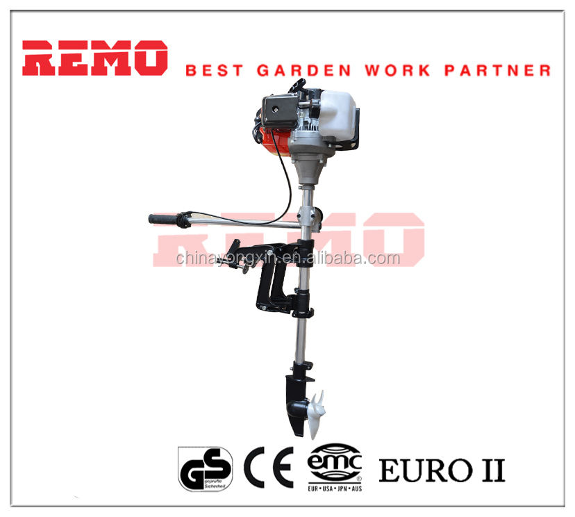 2-Stroke high quality Outboard motor RMC-430 3 hp electric boat motor