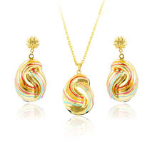 xuping fashionable jewelry, big fashion party dubai jewelry set, african wedding jewelry set