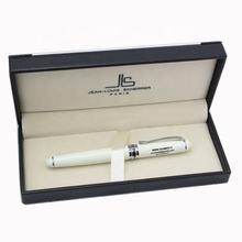 Luxury special elegant Stainless Medium Nib 0.5mm popular style white calligraphy writing pen metal fountain pen