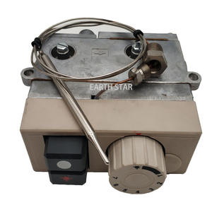 Model 710 Minisit Gas Fryer Thermostat Control Valve 120-200 Derajat LPG Thermostatic Katup Valves