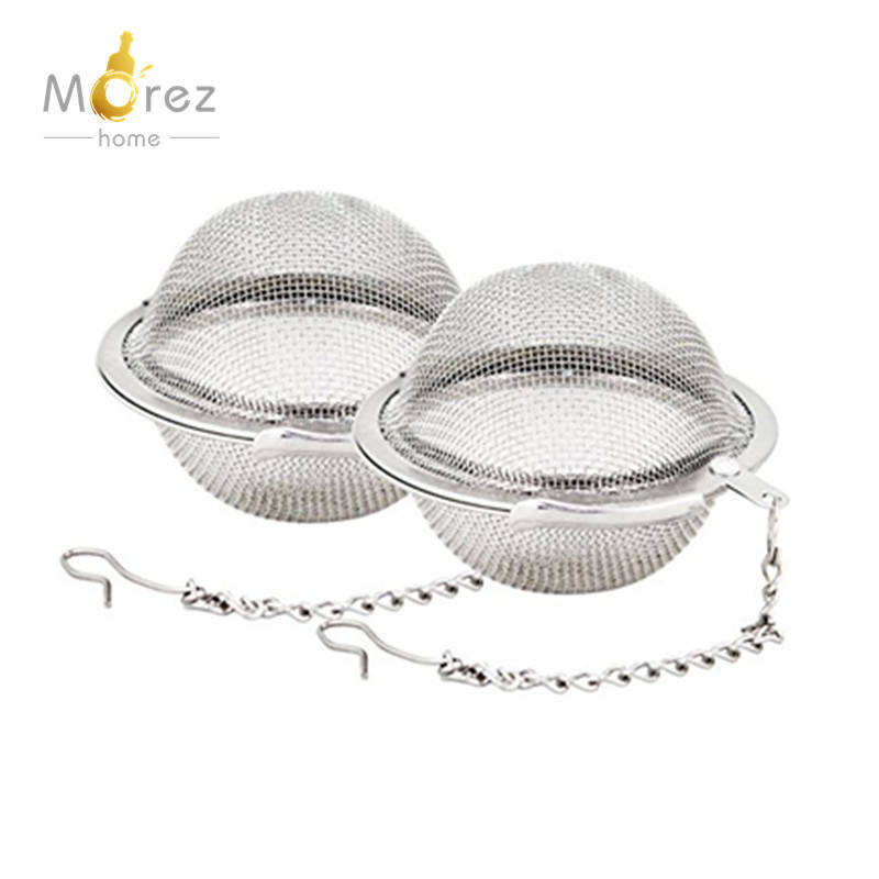 Morezhome hot selling Elegante rvs bal Thee-ei Thee Filter