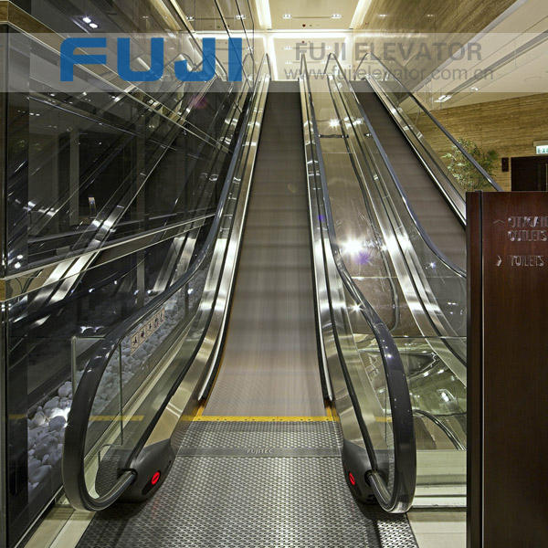 FUJI Passenger Conveyor moving walkway with Step Width 1000mm~1400mm