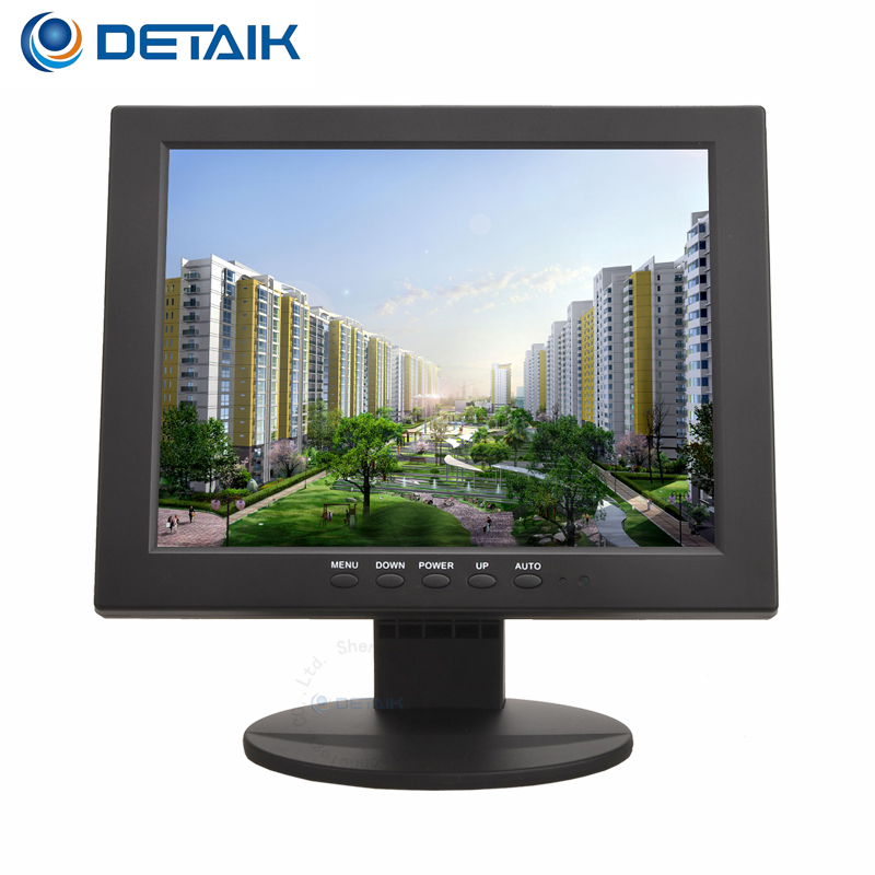 Detaik di Piccola Dimensione 10 pollice LED Monitor del PC Quadrati 10.4 pollice Mini TFT LCD Monitor CCTV