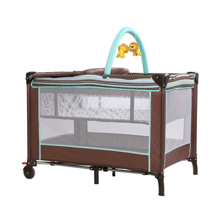EN Approved Double Layer Hot Wholesale Multi-Purposes Baby Playpen