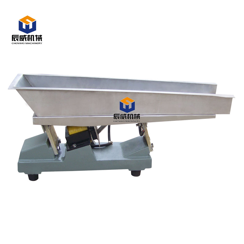 Gzv Series Micro Electromagnetic Vibrating Feeder With Plc Controller