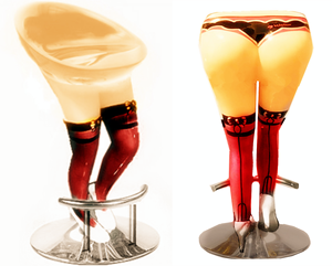 Seks Furniture Kasino Anak Lounge Bar Hotel Desain Kustom Lady Bar Stool Hot Bar Kursi Klub Malam Seks Kursi