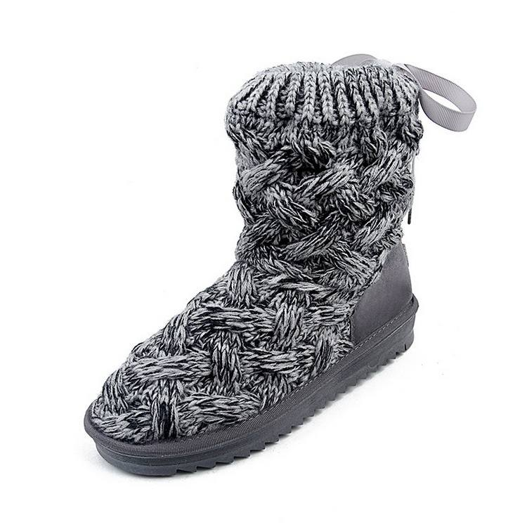 Cheap custom winter ladies house slippers boots women snow boots