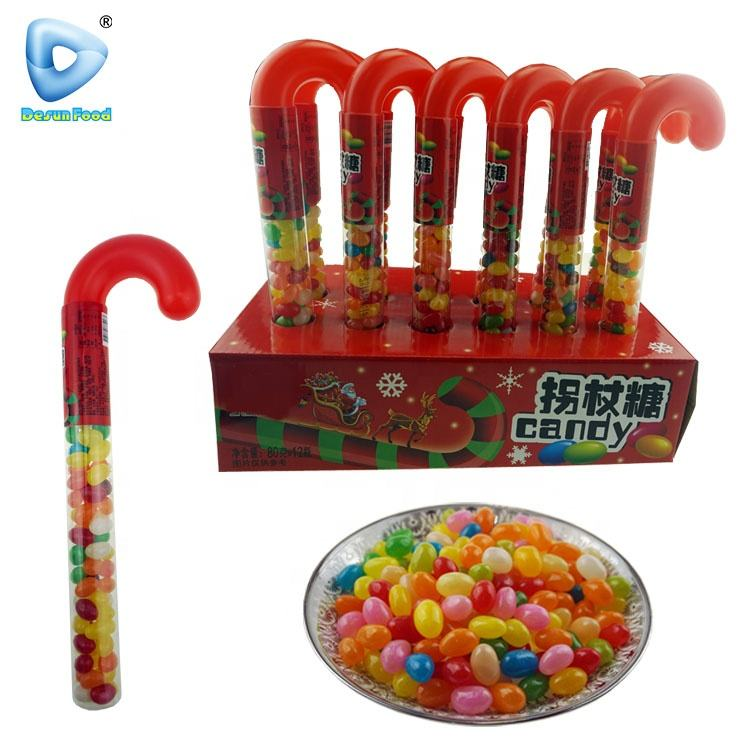 Kerst voor <span class=keywords><strong>plastic</strong></span> riet fruitige jelly bean snoep