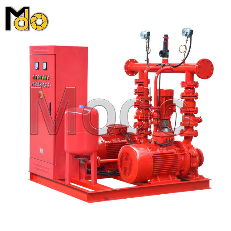 price of 500,750 gpm specification vertical single-stage electric motor diesel engine fire pump set 55kw machine for petroleum
