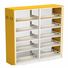 commercial furniture library MDF bookshelf for sale,library steel bookshelf