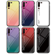 For Lenovo Z6 Pro Simple Case Hard Tempered Glass Gradient Protective Back Cover Case For Lenovo Z6Pro phone shell