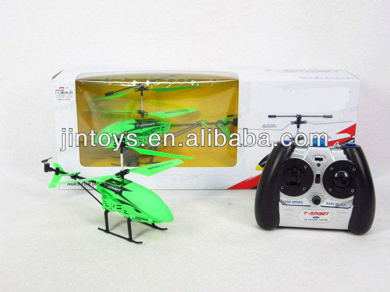 Glowing 3.5ch rc helicopter avec gryo