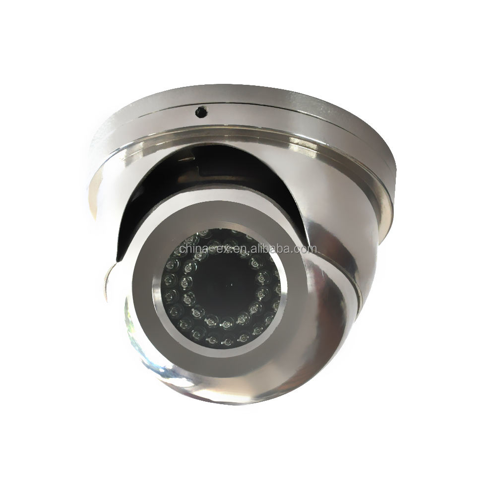 Explosion proof infrared dome cctv camera for sale