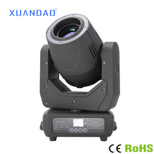 Moving Head LED Panggung Lampu 180W LED Spot + Beam Moving Head Gobo Cahaya dengan Ce RoHS Sertifikasi