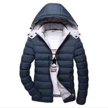 ZY2108A Winter Hooded thick cotton Jacket Mens