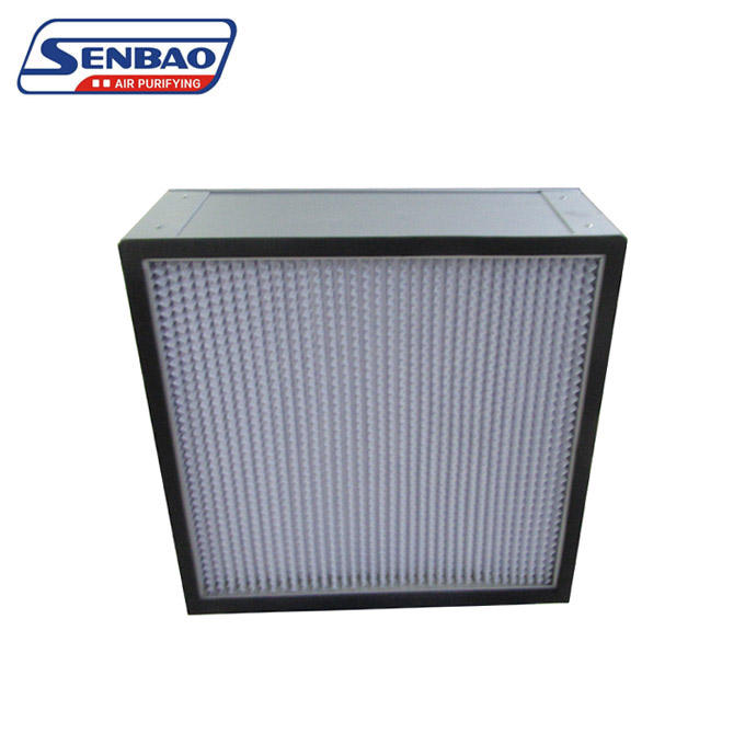 AHU System Panel Pleated High Efficiency Air Filter Manufacturer