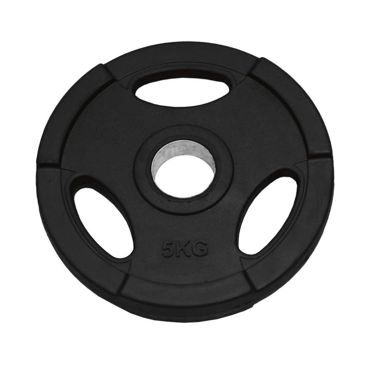 Cheap Durable Power Rubber Bumper Cast Iron Olimpic Weight Plate For Gym