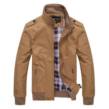 China Wholesale Price Autumn New Stand Collar Men Jackets Youth Casual Jacket