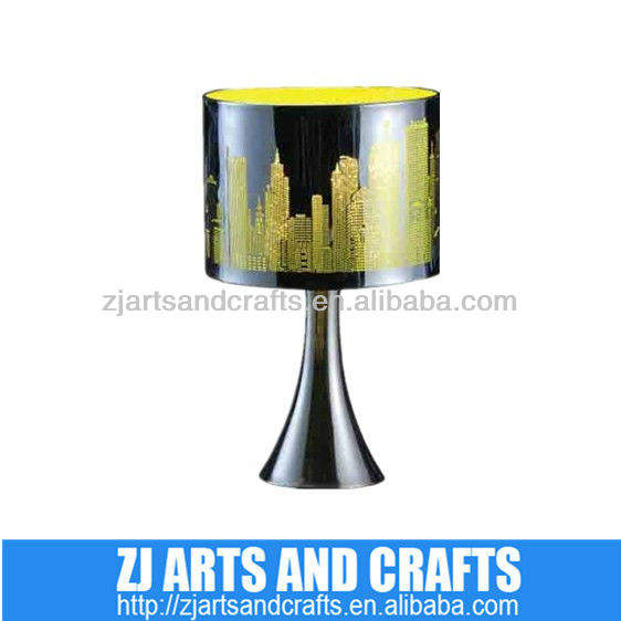 metal shade working table lamp