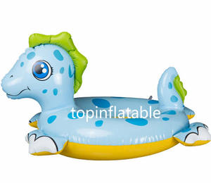 Summer carnival PVC material inflatable swim boat for kids