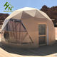 Luxury Heated Eco Hotel Decoration Prefab Transparent Dome House Desert Tent For Camping