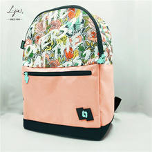 High-duty Women's Versatile Macbook Laptop Backpack Hiking bag Schoolbag school bag for girls female cute pink online shopping