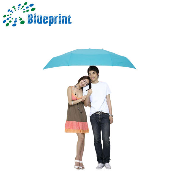 Dual twin couple umbrella,double umbrella for double people