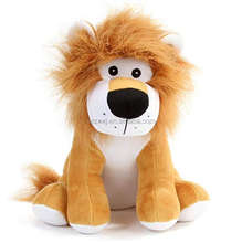 Children Plush Stuffed Toy Kid Toy Customized Cute  Sitting lion Stuffed Animal Plush Toy Factory Cute Low MOQ Promotional lion