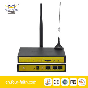 F3426 3g modem router mobile wifi RS232/LAN to HSUPA  VPN router for Smart Grid