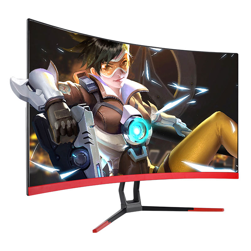 Free shipping&tax curve 27 inch 2k 144hz gaming lcd monitor with DP HD MI inputs