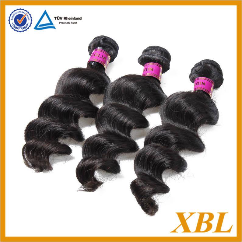top grado 6a completo la cutícula intacta naturales sueltos de onda mongolia virgen del pelo al por mayor