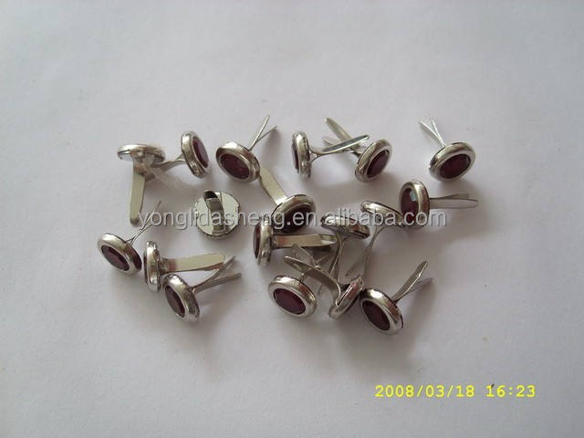 Decorative metal brad,paper fastener brad,craft brad