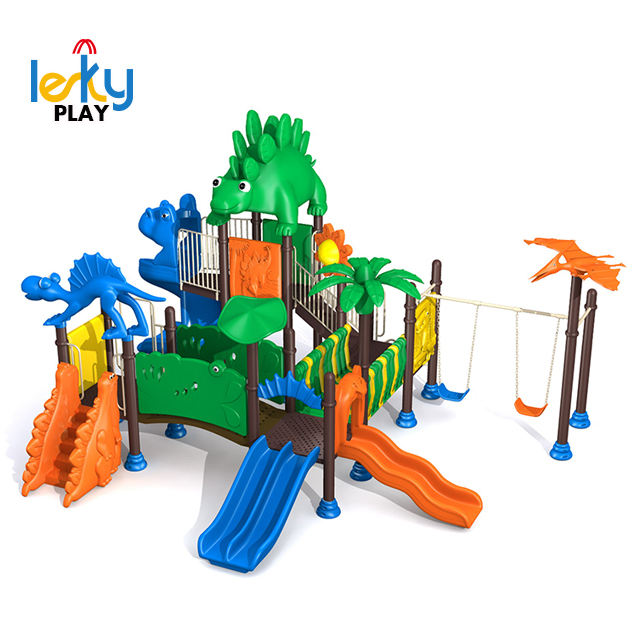 Jurassic Park theme Preschool PLAY With Swing, Kids Playground Equipment big and funny fancy children outdoor playground