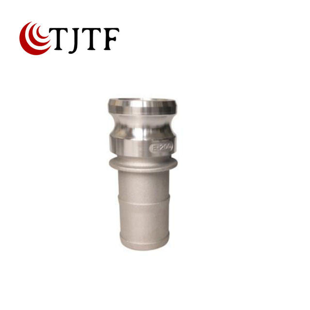 Stainless Steel Flexible Hose Coupler Camlock Type Quick Connect Coupling Type A Part