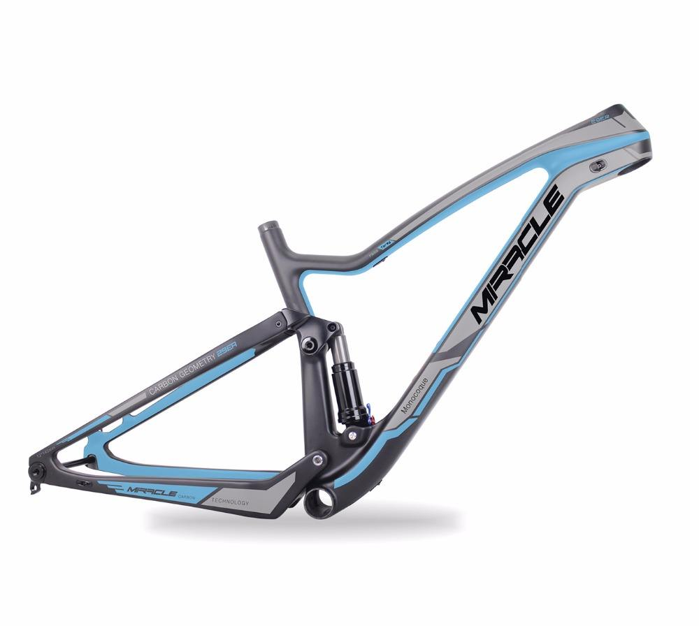 27.5 plus enduro MTB Bicycle Frame,T700 Full carbon fiber Boost Bicycle Frame,warranty 2 years mountain Bicycle Frame 27.5er