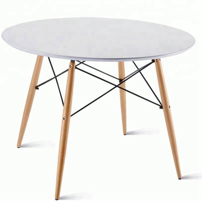wooden round table for kids dinning room furniture