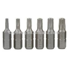 S2 Screwdriver Bits, Forged TORX Insert Bit, Star