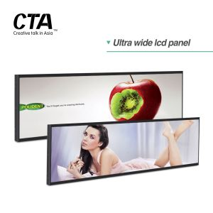 19.5 inch ultra wide lcd touch screen stretched bar tft monitor