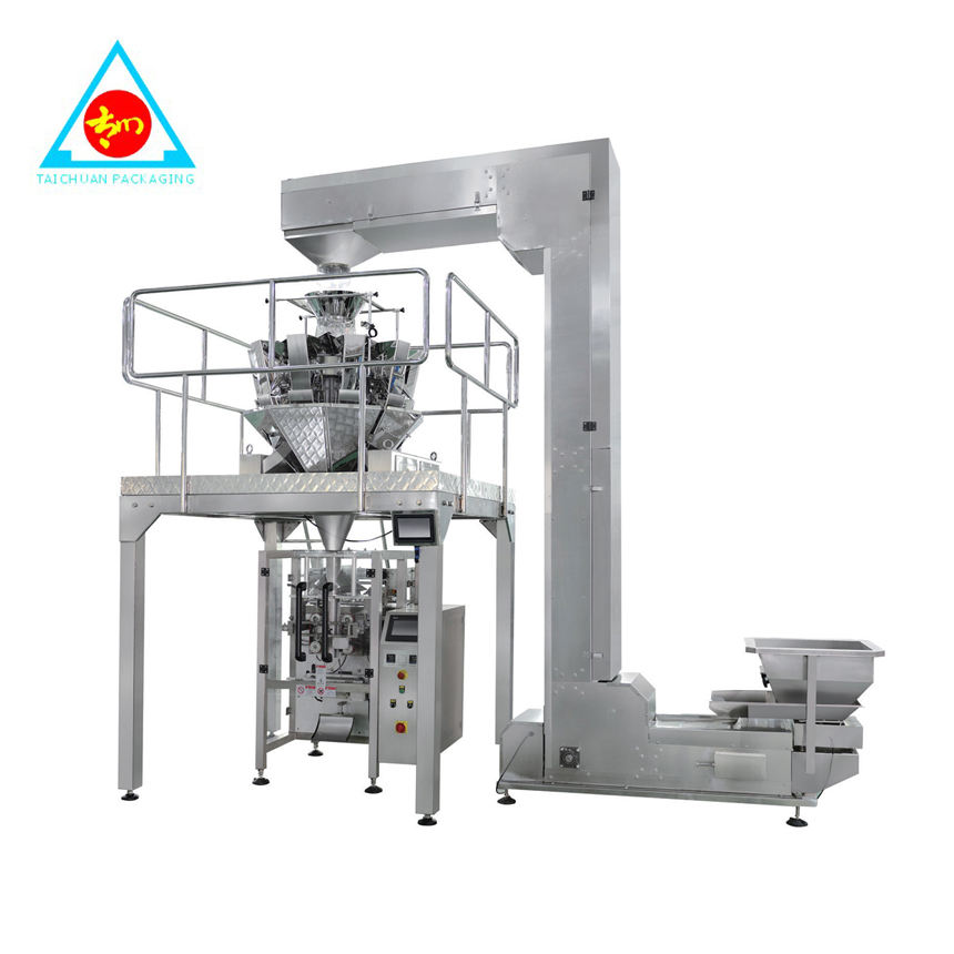 LARGE VERTICAL AUTOMATIC PACKING MACHINE FOR HIGH PRECISION OBJECTS MEDICINES HARDWARE ITEMS RICE BALLS