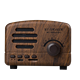 New Design Retro Wooden Case Classic Mini Portable BT Speakers Trendy Sd Card Bluetooth Speaker Magic Resistant With Micro