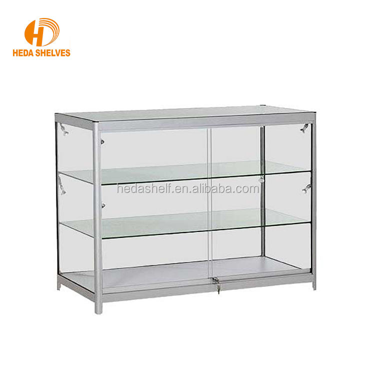 Customizable Exhibition Glass Display Showcase
