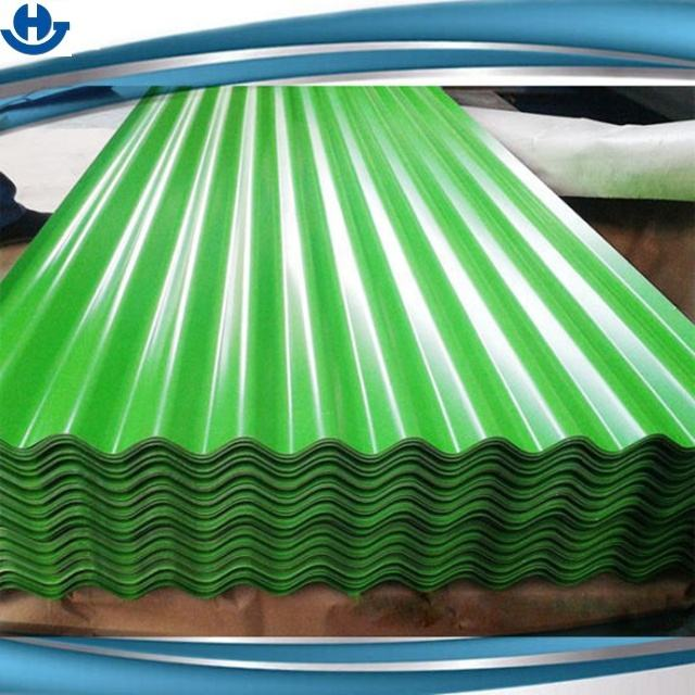 0.5mm Color Coated Corrugated Galvanized Zinc Roof Sheets in India For Building Roofing And Wall