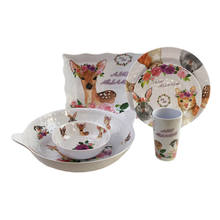 wholesales melamine round dinnerware clearance