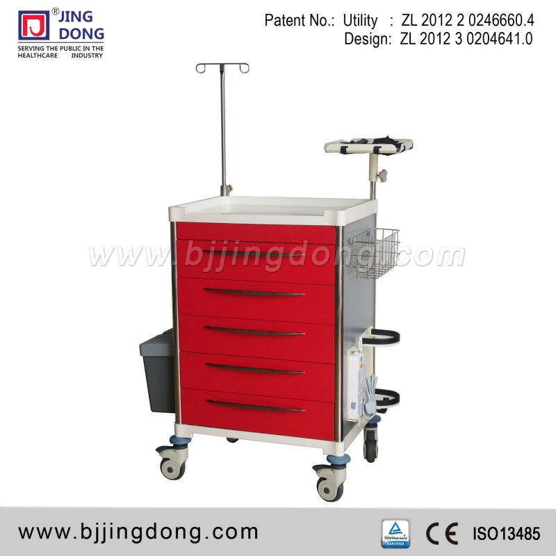 Emergency Cart Jingdong Medical Emergency/crash Cart