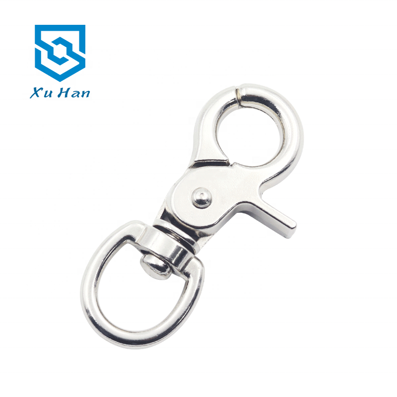 Manufacturer Direct Selling, high quality zinc alloy snap hook for Handbags and traction ropes