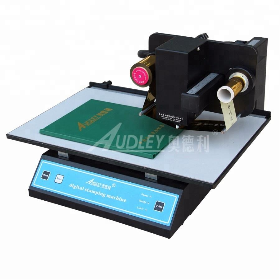 digital business book cover foil stamping machine,name badge,color business card printing machine